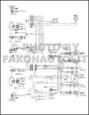 1979 Monte Carlo Malibu and Classic Wiring Diagram 79