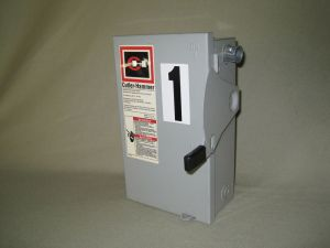 Cutler Hammer General Duty Safety Switch 30 Amp 240V60Hz