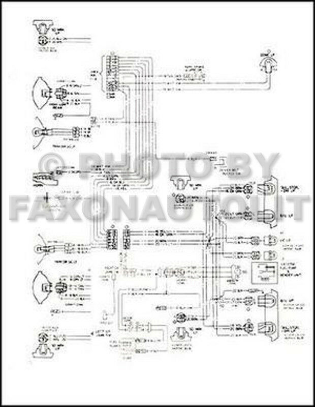 Chevy Gmc P4 And P6 Wiring Diagram Chevrolet Forward