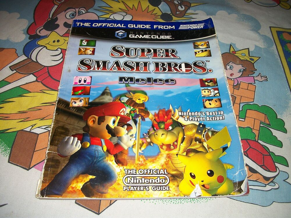 Super Smash Bros Melee Strategy Players Guide Players