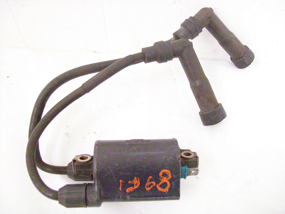HONDA CB750 #1&4 IGNITION COIL WITH WIRES AND CAPS