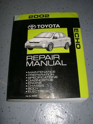 2002 Toyota ECHO service manual shop repair workshop | eBay