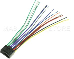WIRE HARNESS FOR JVC KDAVX44 KDAVX44 *PAY TODAY SHIPS