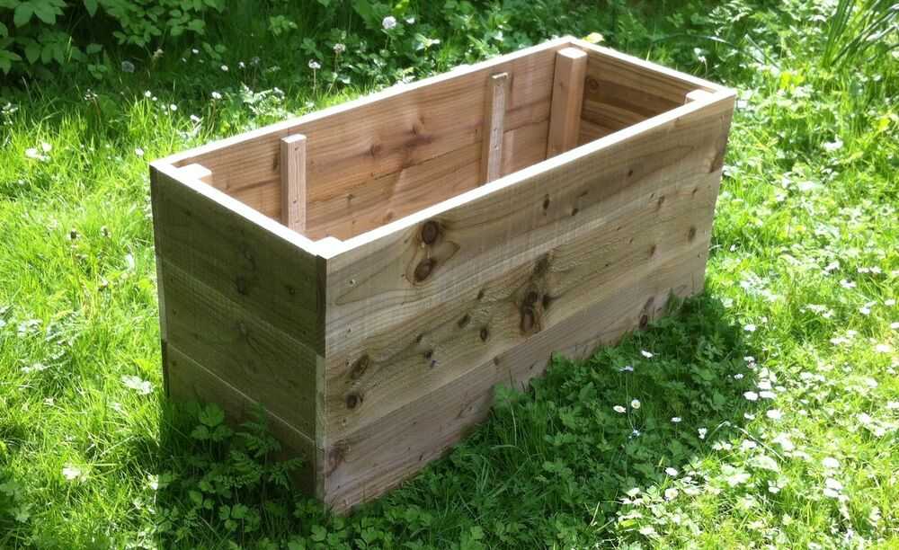 Planter Large Raised
