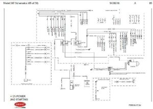Before Oct 15, 2001 Peterbilt 387 Complete Wiring Diagram