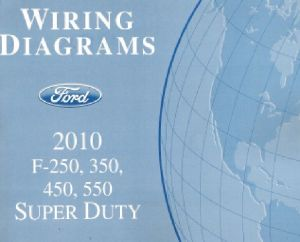 2010 Ford F250 F350 F450 F550 Factory Wiring Diagram