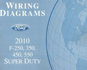 2010 Ford F250 F350 F450 F550 Factory Wiring Diagram Scehmatics Manual | eBay