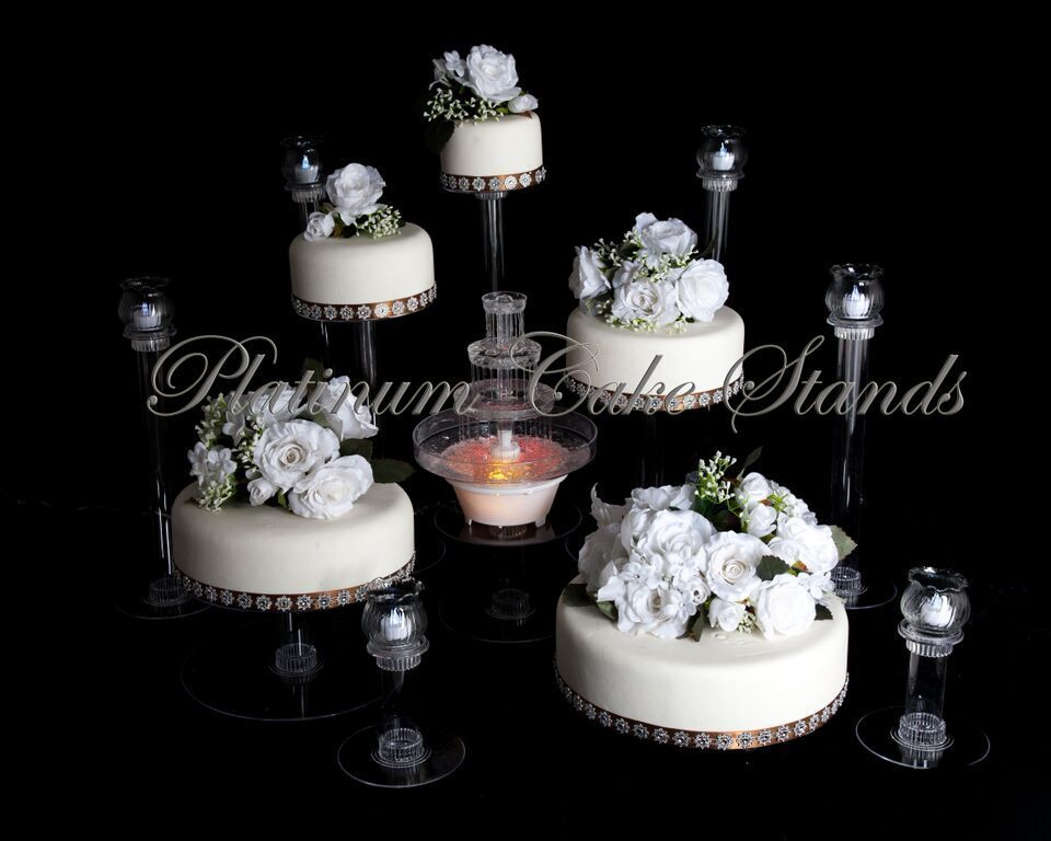 6 Stand Cake Tier Wedding
