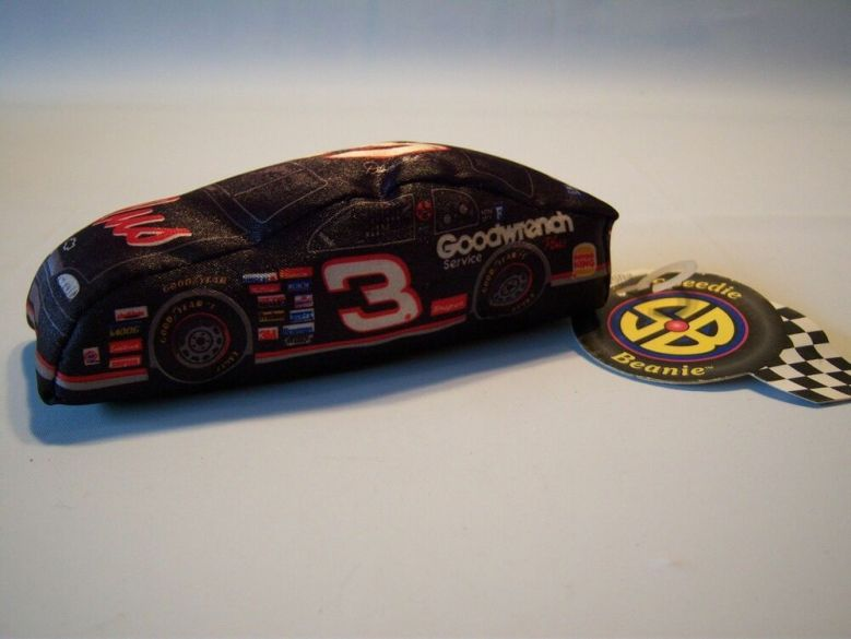 Collectible Nascar #3 Dale Earnhardt Goodwrench Plush Stuffed Race Car Toy NWT | eBay