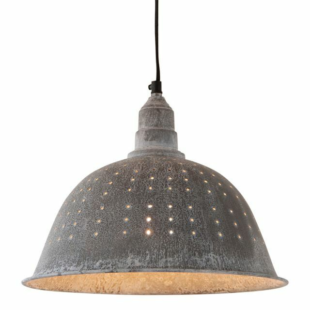 Lighting Fixtures Punched Tin