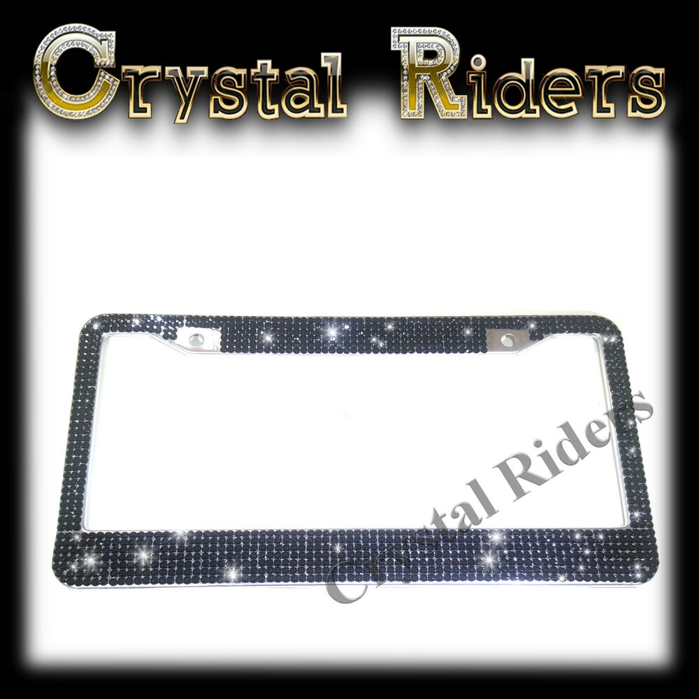 Black Stainless Steel License Frame