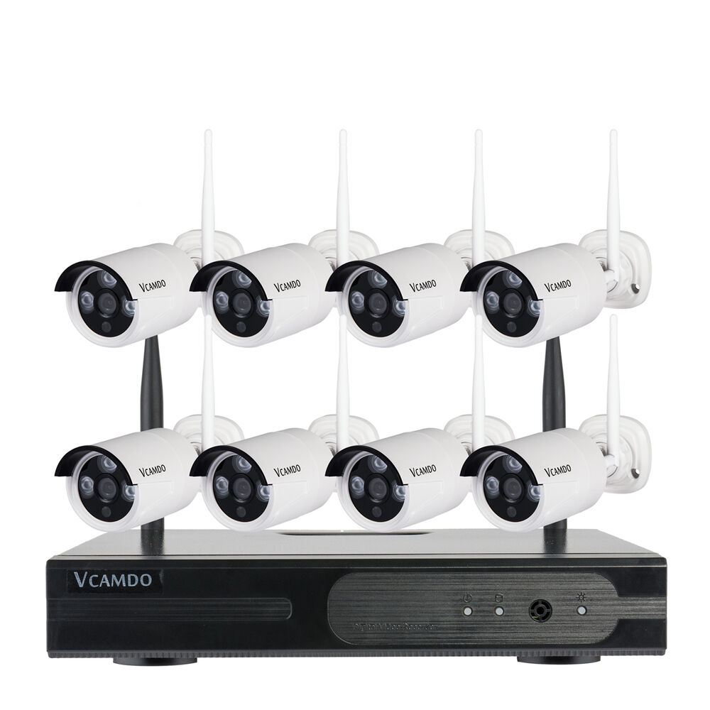 Home 8 Camera Wireless Systems Security
