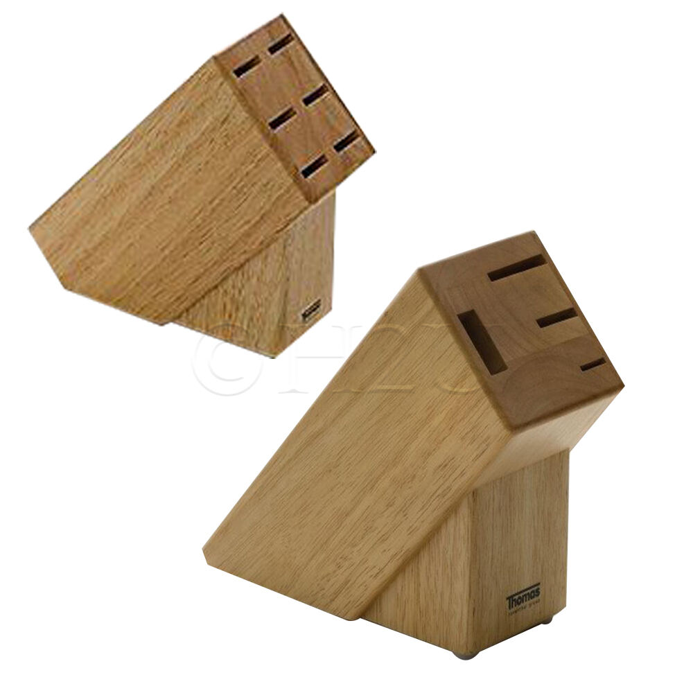 Knives Blocks Wooden Without Knife