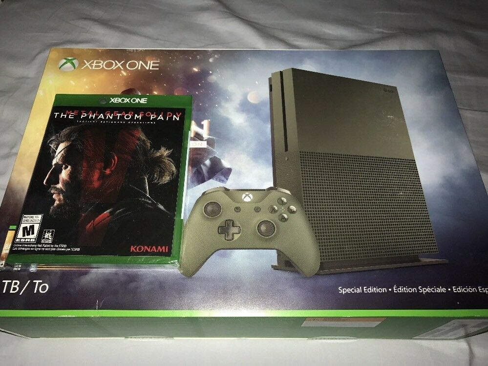 New Military Green XBOX One S Special Edition 4K Console