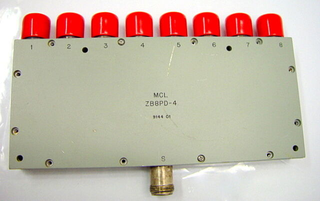 Mini Circuits Mcl Zb8pd 4 Rf Coaxial 8 Way Power Splitter