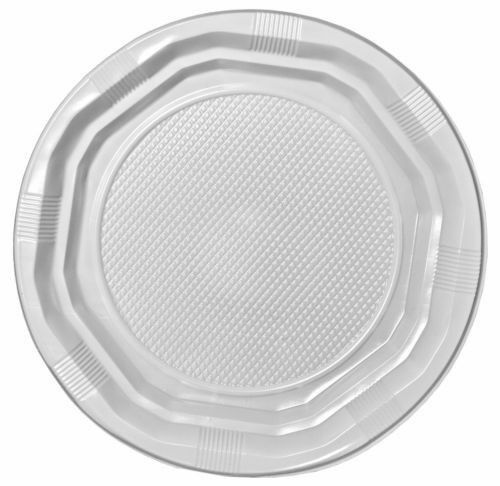 sc 1 st  Celebrations Cake Decorating & 50 Clear Plastic 7 Disposable Plates