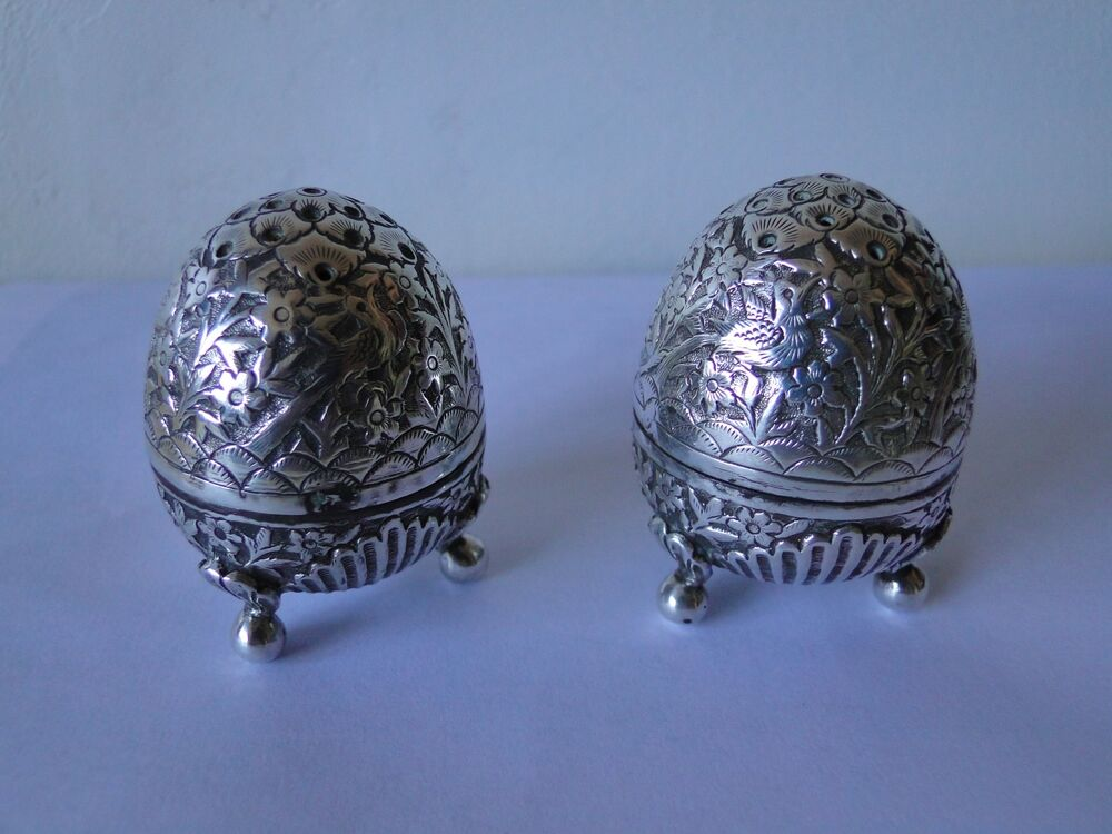 Salt And Pepper Shakers Engraved