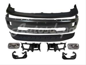 20092012 DODGE RAM 1500 FRONT BUMPER GREY UPPER AIR DAM