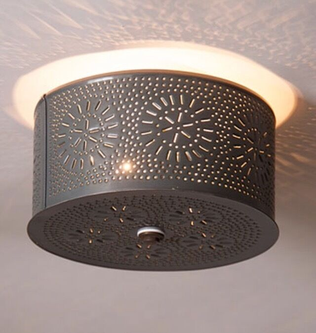 Fixtures Punched Lighting Tin