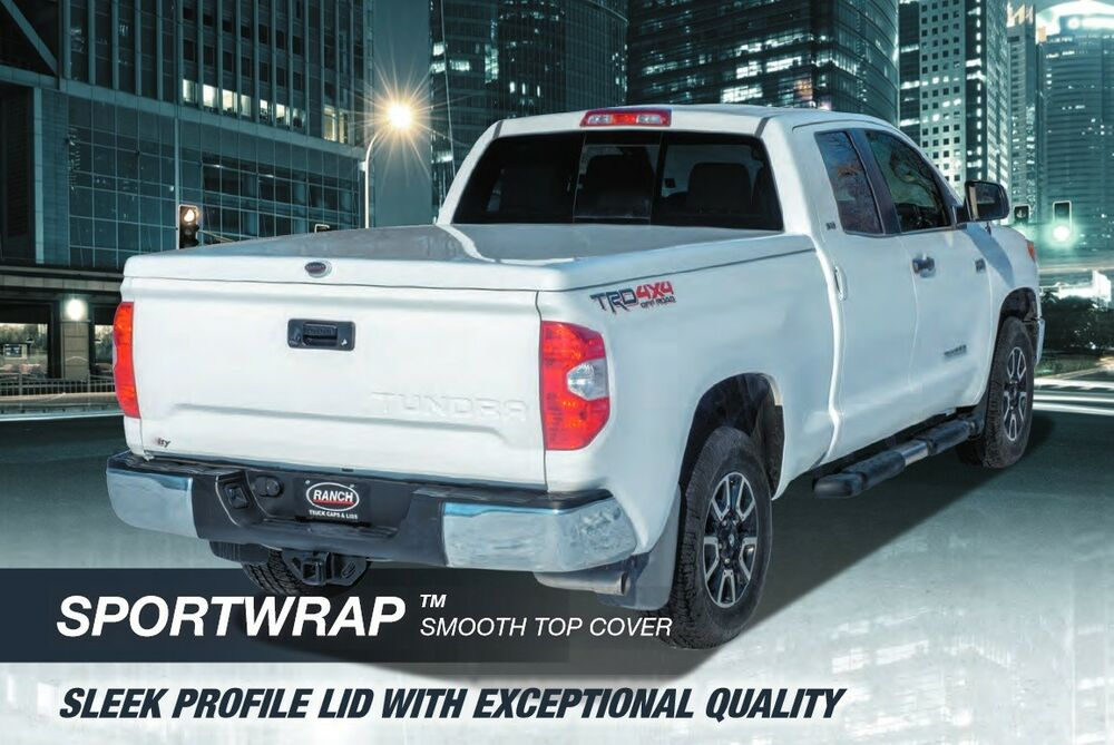 Toyota Tundra Fiberglass Hard Tonneau Bed Covers 2000 2016