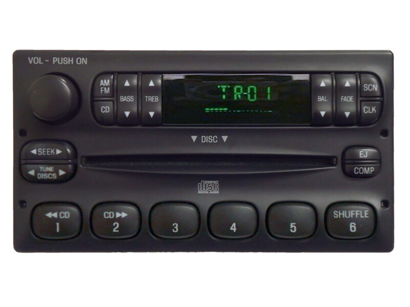Ford F150 Oem Stereo
