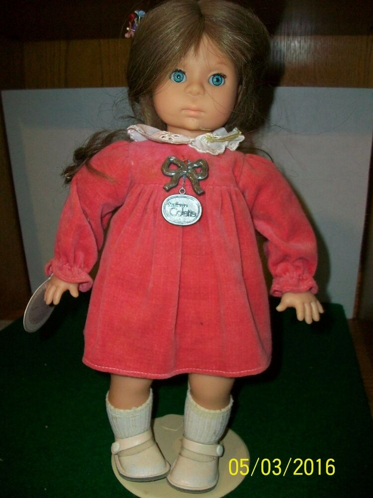 Vintage Colette 14 Inch Vinyl And Cloth Zapf Doll Made In W Germany EBay