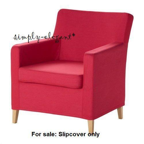 Ikea COVER For IKEA KARLSTAD Chair Small Armchair