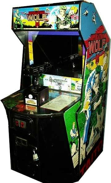 OPERATION WOLF Classic Arcade Game Machine Works Great EBay