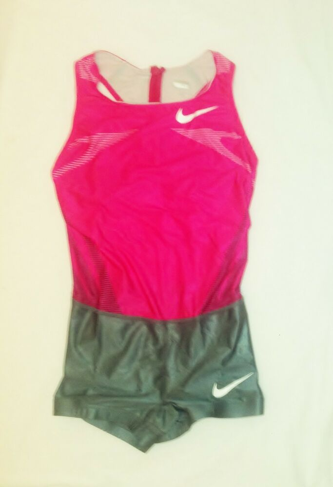 Nike Pro Elite Pro Issue Only Womens Race Day Speed Suit IAAF Golden League New EBay