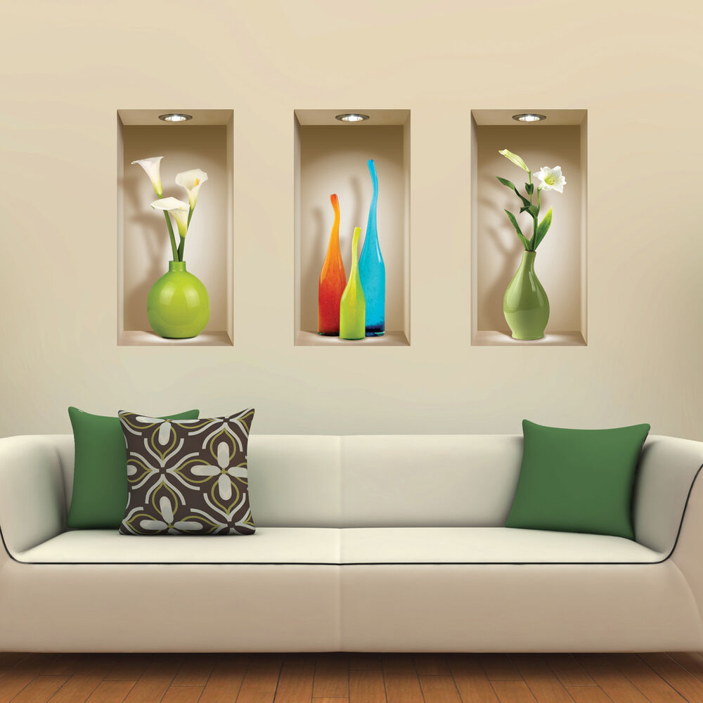 Home Decor 3d Wall Stickers