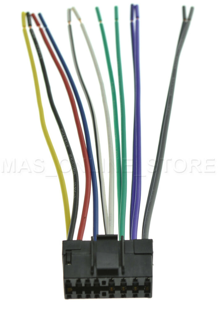 Wire Harness For Jvc Kd G230 Kdg230 Pay Today Ships Today