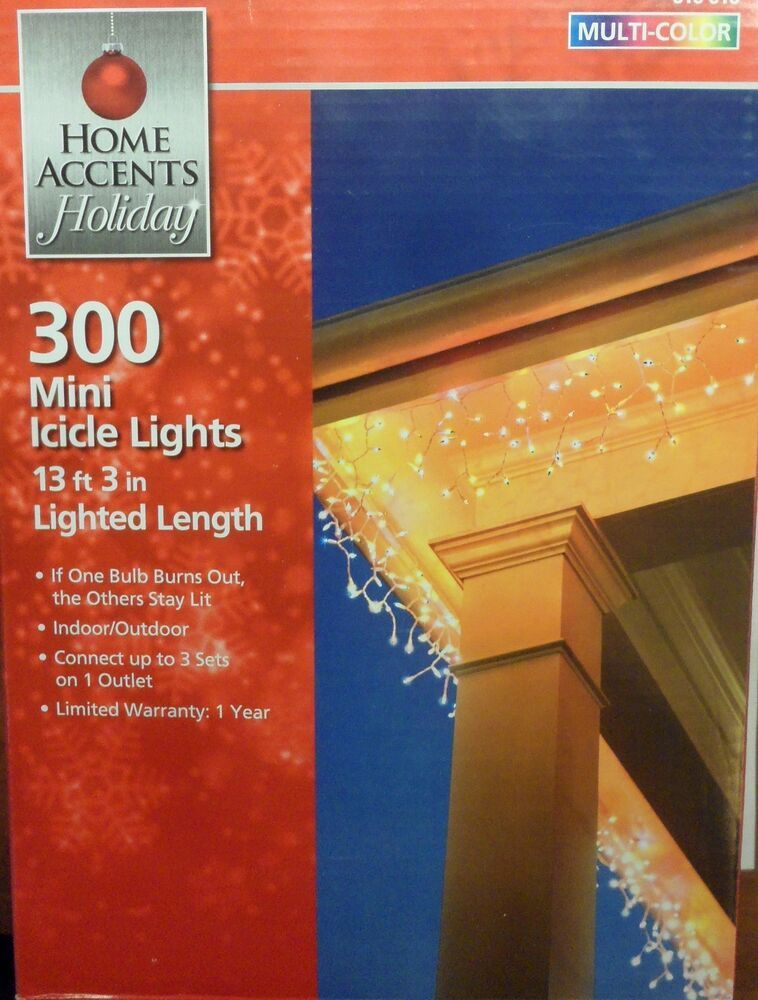 Home Accents Holiday Mini Lights