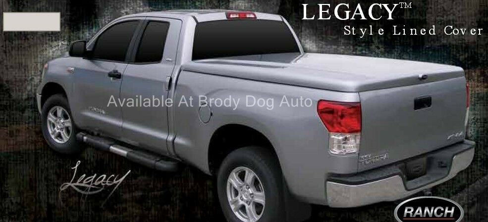 Toyota Tundra Fiberglass Hard Tonneau Bed Covers Painted