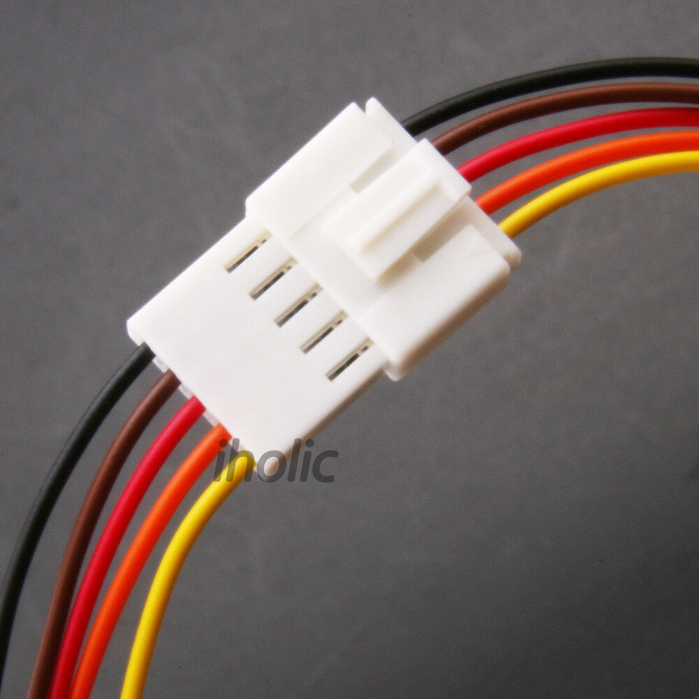 1pcs Small 5 Pin Terminal Lead Wire Harness