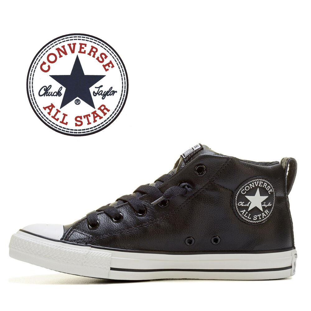 Converse And Top Mid Black Star Static Sneakers All Men Green