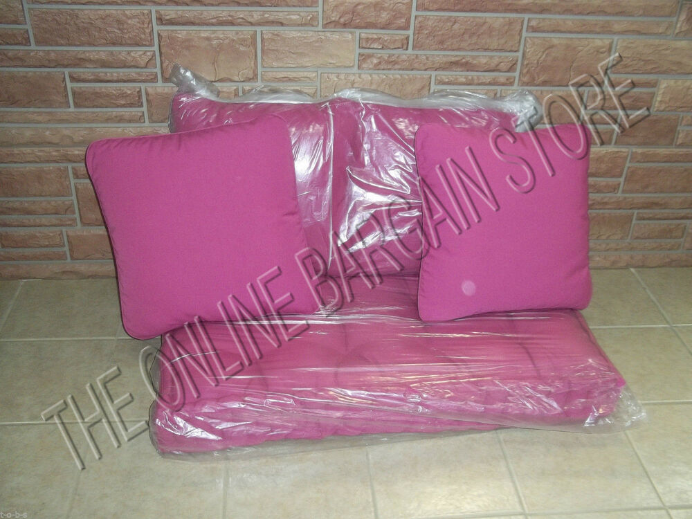 Frontgate Outdoor Bench Loveseat Chair Sofa Cushion 4
