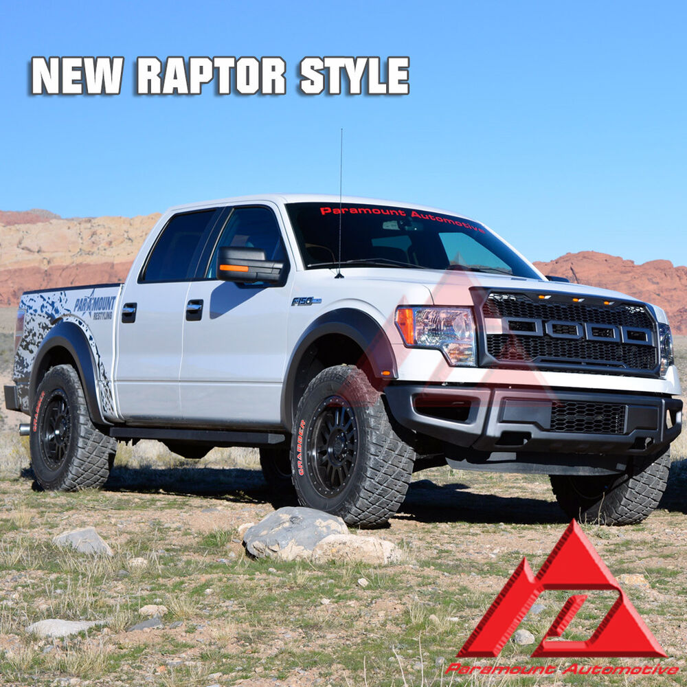09 14 Ford F150 Paramount Front BumperGrilleFender