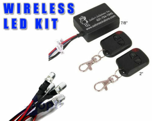 Motorcycle Led Light Kits Remote