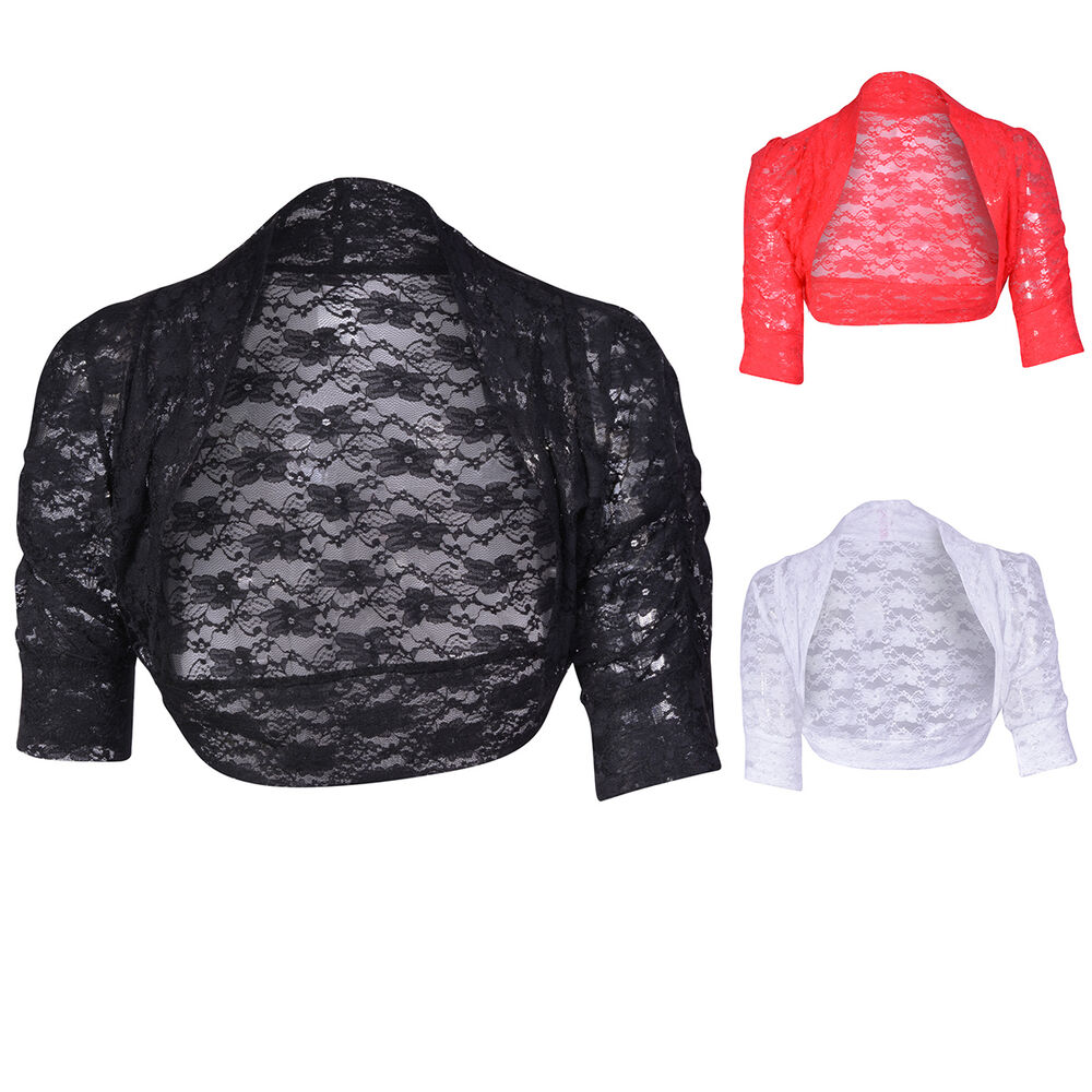 Lace Shawls And Jackets