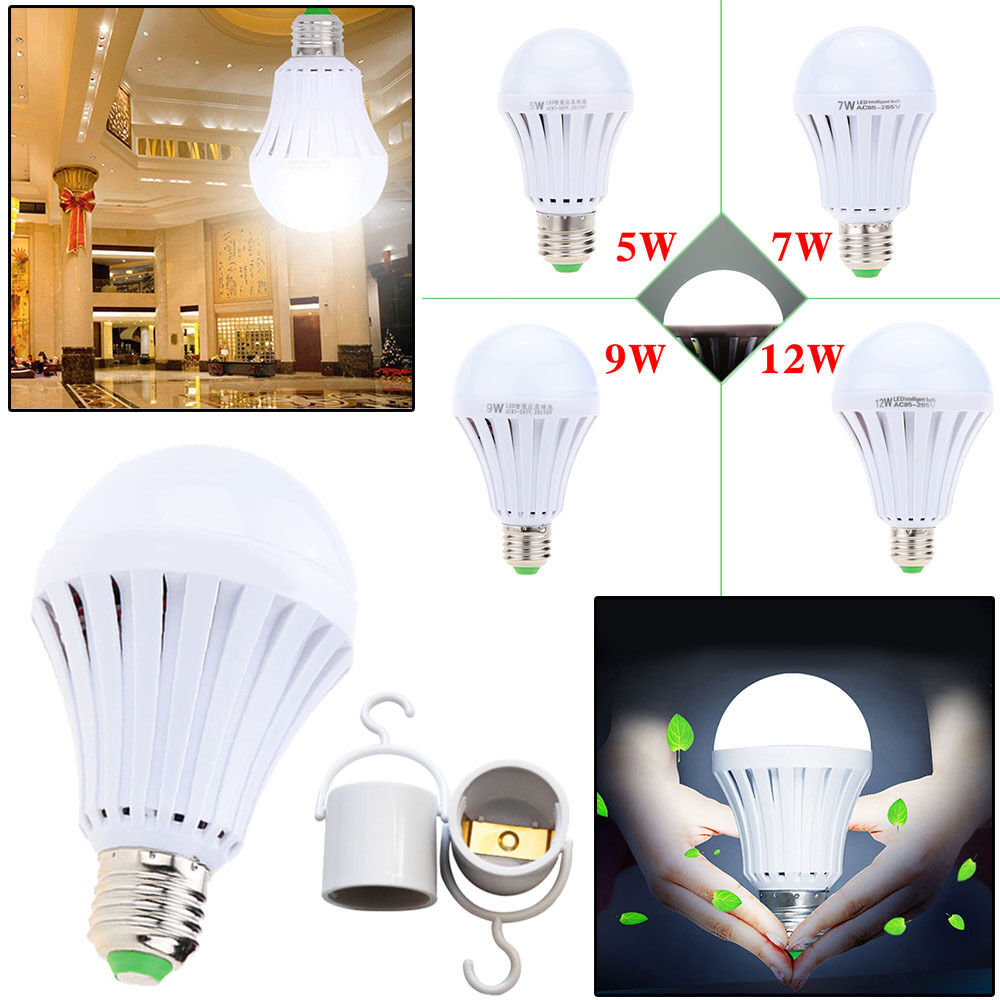 Led Intelligent Emergency Light Bulb
