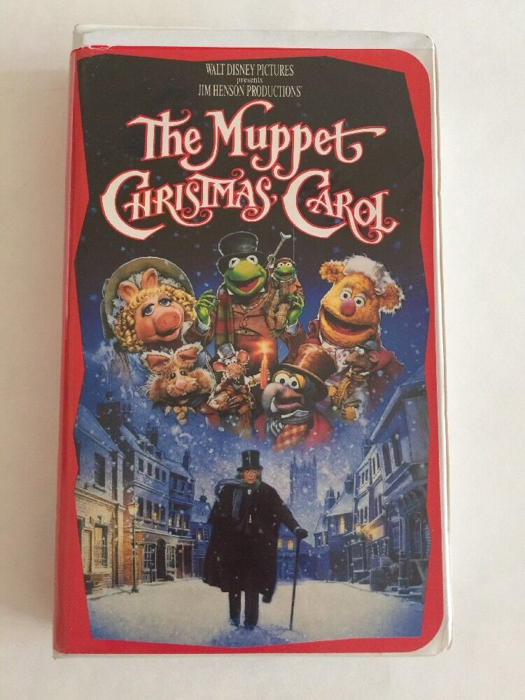 The Muppets Christmas Carol VHS 1993 Clam Shell Used EBay
