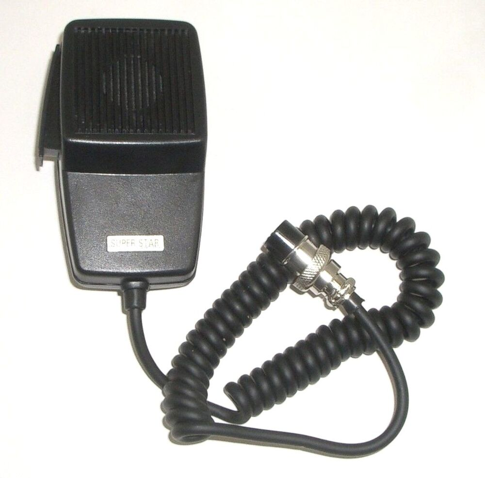 Workman Dm507 4 Replacement Cb Radio Microphone 4 Pin