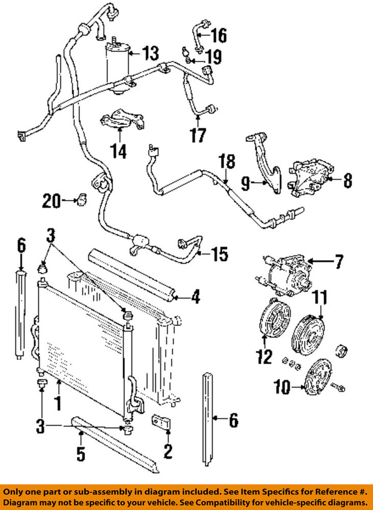 Ford Windstar Parts List