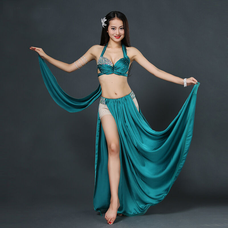 2016 Professional Belly Dancing Costumes Set Performance ...