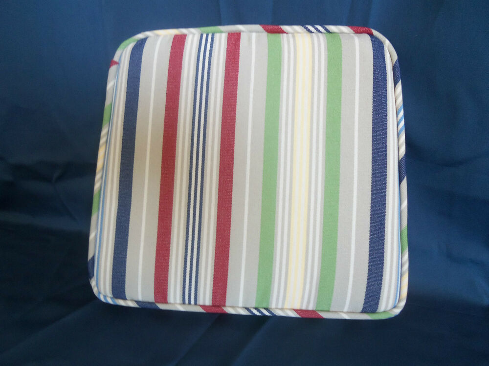 Pottery Barn Kids Chesapeake Outdoor Table Chair Cushion