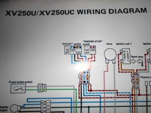 Yamaha OEM Factory Color Wiring Diagram Schematic 1988