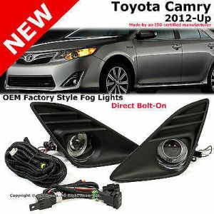 Toyota Camry 1213 Projector Halo Front Bumper Fog Light