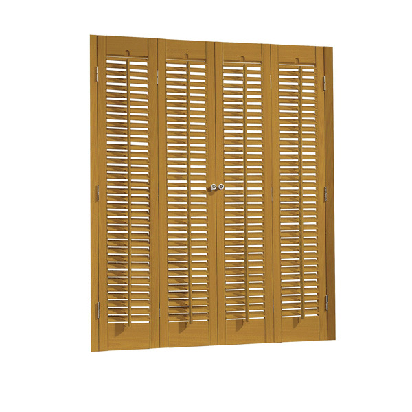 Faux Wood DIY Traditional 1 14 Interior Shutter Kits 39