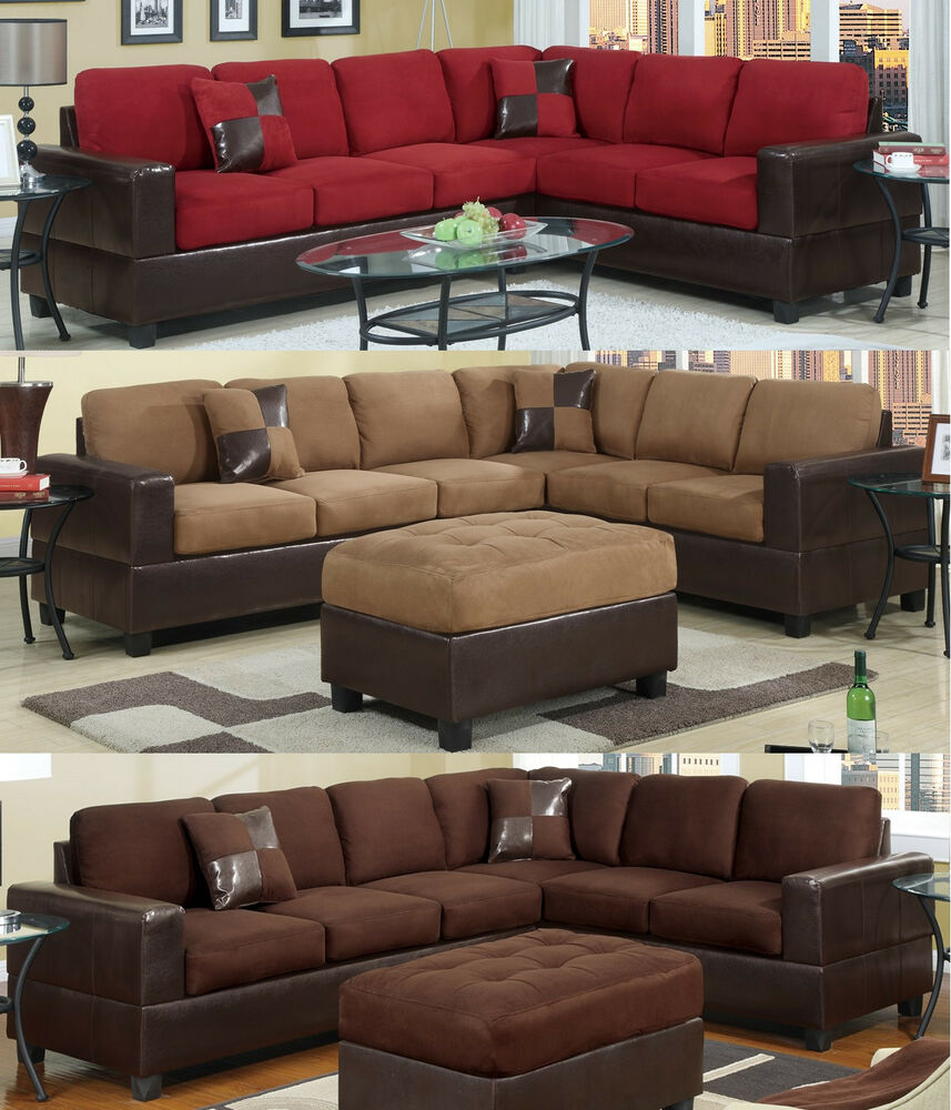 Sectional Sofa Living Room Set
