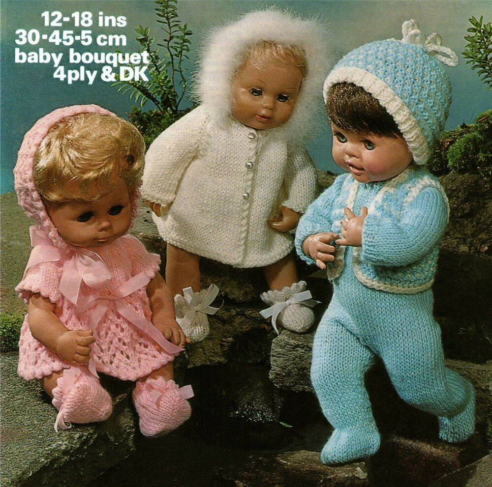 Knitted Doll Clothes For Dolls 14